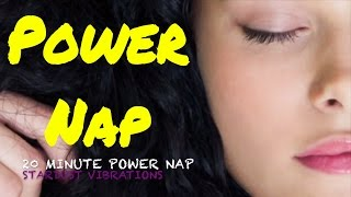 20 Minute Power Nap   Fall Asleep Fast   Isochronic Tones   Afternoon Nap   Increase Energy