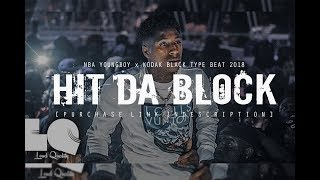 "[FREE] NBA YOUNGBOY TYPE BEAT 2018 ""Hit Da Block"" (Prod. By @two4flex)"