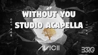 Avicii - Without You (100% REAL Studio Acapella) -FREE DOWNLOAD-