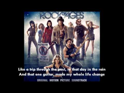 Rock Of Ages Juke Box Heroi Love Rock N Roll With Lyrics Chords