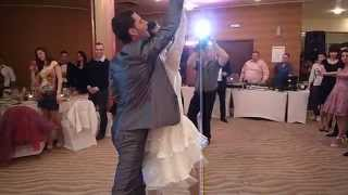 Absolutely unique first wedding dance