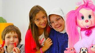 Hayal ailesi 5: Polen Adrian'ın rus babaannesinde. Türkçe izle! Çocuk dizisi/oyunları/videoları
