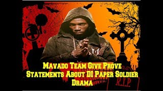 Mavado  Reply To Foota Hype call him Paper Soldier