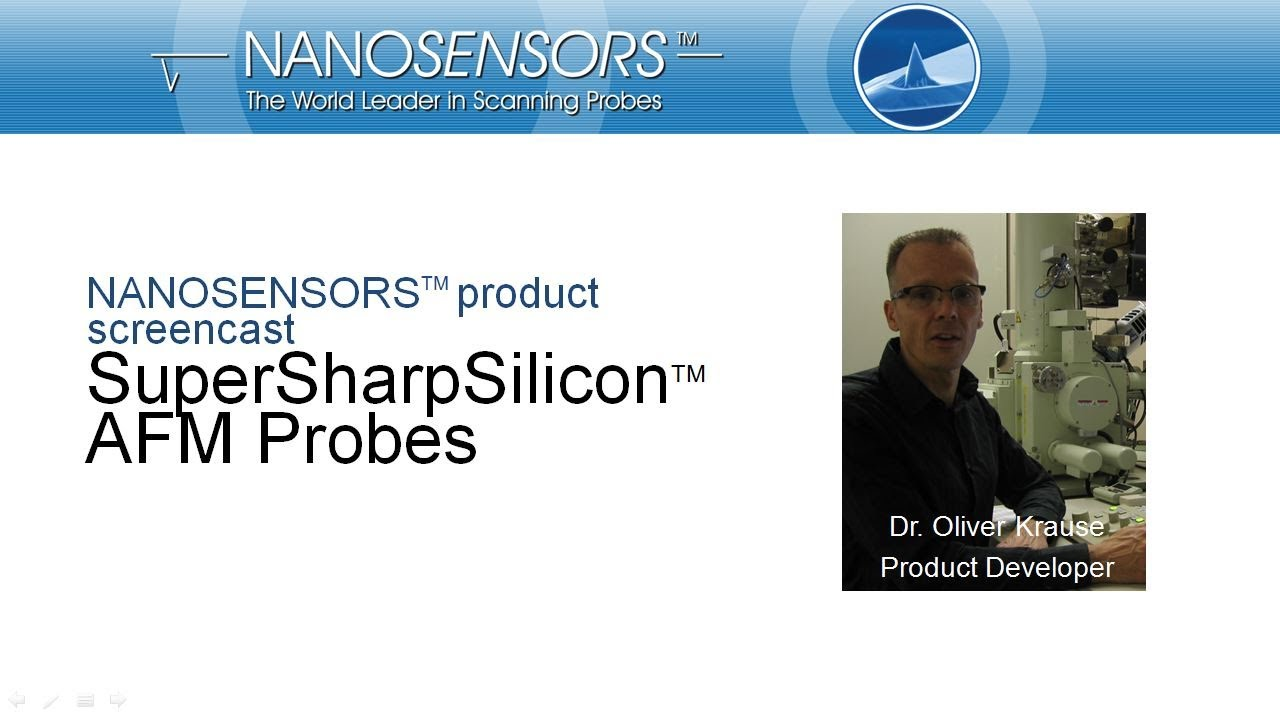 NANOSENSORS SuperSharpSilicon AFM probes thumb