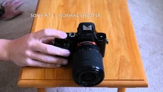 Camera Shutter Sounds - mirrorless v dSLRS