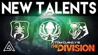 The Division New Weapon Talents in 1.3 Underground DLC