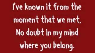 Adele - Make You Feel My Love (Lyrics On Screen)