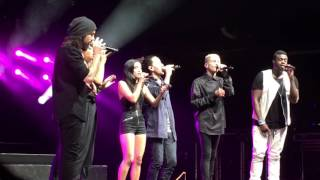 PTX - Pentatonix feat. Us the Duo - If I Ever Fall in Love live @ Palladium Köln - 04.06.2016 HD