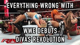 Episode #212: Everything Wrong With WWE Debuts: DIVAS REVOLUTION