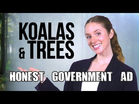 Honest Government Advert | Koalas & Trees