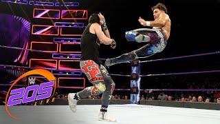 Noam Dar vs. TJP: WWE 205 Live, July 3, 2018