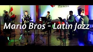 Mario Bros en latin jazz Sax - Fusión