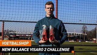 Voetbalshop   New Balance Visaro 2 Challenge met FC Twente verdediger Peet Bijen