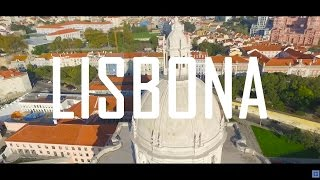 Amazing Aerial View of Lisbon with Phantom 3 | DJI