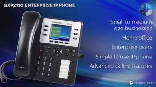 Grandstream GXP2130 Enterprise IP phone Credit : GrandstreamNetworks