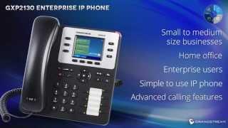 Grandstream GXP2130 Enterprise IP phone Credit : GrandstreamNetworks