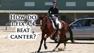 How Do I Fix a Four Beat Canter? - Dressage Mastery TV EP32