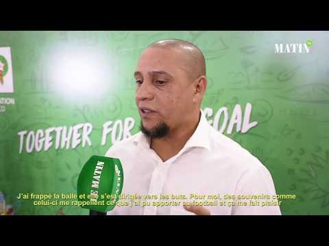 """Video : Roberto Carlos : """"Le Maroc mérite d'être en demi-finale d'une Coupe du monde"""""""