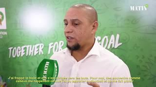 """Roberto Carlos : """"Le Maroc mérite d'être en demi-finale d'une Coupe du monde"""""""