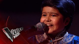 Krishna Performs 'How Deep Is Your Love': Blinds 2 | The Voice Kids UK 2018