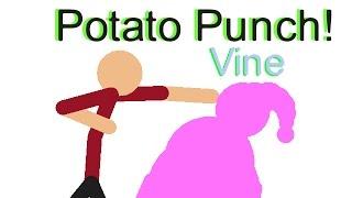 Potato Punch Stick nodes Vine