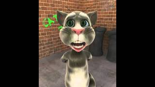 Talking Tom cat handlebars