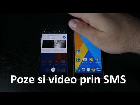 Cum TRIMITEM RAPID POZE sau VIDEO prin SMS
