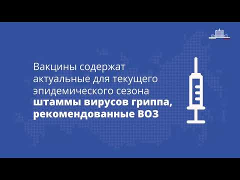 Лучшая профилактика гриппа - вакцинация!