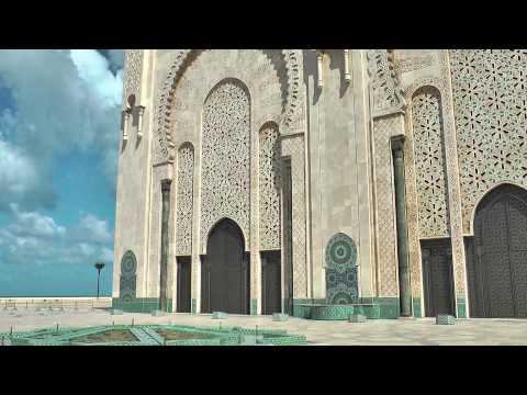 Morocco 2012 – Casablanca Hassan II Mosque & Corniche