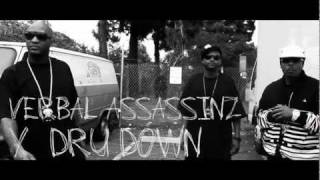 VERBAL ASSASSINZ - FEAT. DRU DOWN - LAUGHING AT YOU NIG*AZ - VIDEO - RAPBAY.COM