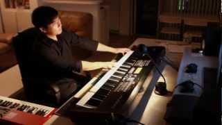 I'll be home for Christmas piano (bossa nova jazz)