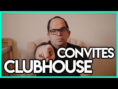 Convite Clubhouse Invite Club House Oficial