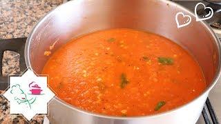 Aprenda a Fazer o Melhor Molho de Tomate Caseiro | #131