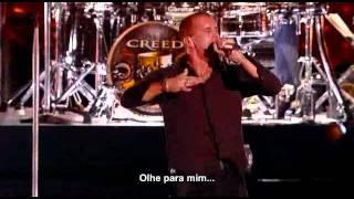 Creed live in houston - bullets (legendado)