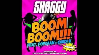 Shaggy ft Popcaan & Cardi B - Boom Boom ( Remix ) | November 2015