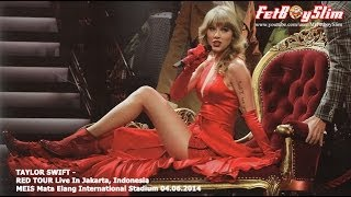 TAYLOR SWIFT - THE LUCKY ONE live in Jakarta, Indonesia 2014