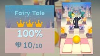 Rolling Sky Bonus 8 Fairy Tale 100% Clear - All Gems & Crowns | SHAvibe