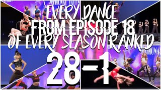 Dance moms every dance on episode 18 of every season ranked (HUGE COLLAB)