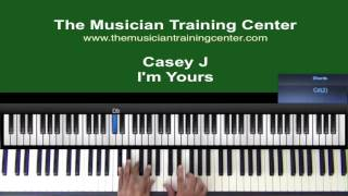 """How to Play """"I'm Yours"""" by Casey J"""