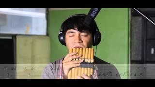 Sonido del silencio - Florcita Azul - Illapas (tutorial zampoña)