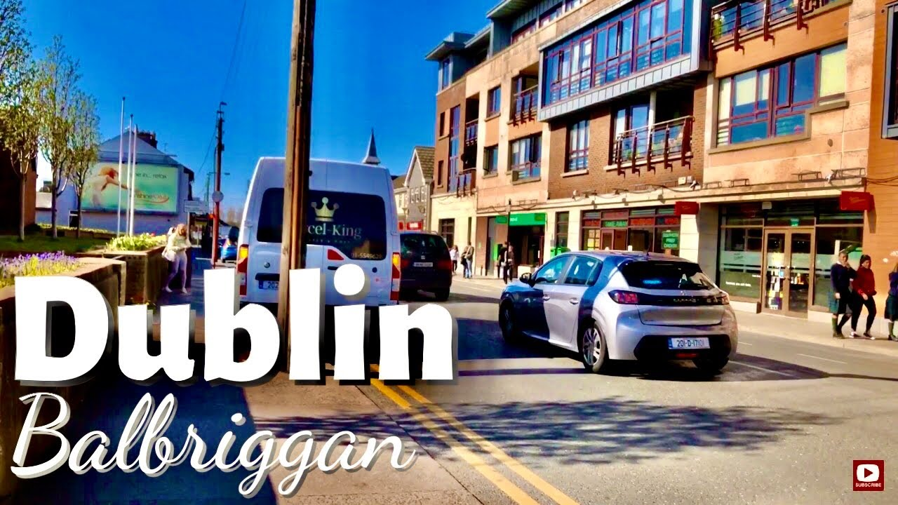 Walking in Balbriggan, Co Dublin Ireland|Walking from Dublin Street to Drogheda Street
