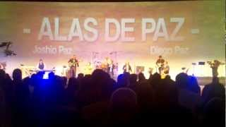 Alas de paz in Llamada final central downey 2/25/12
