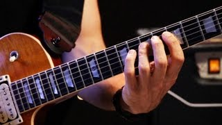 How to Play the Minor Pentatonic Scale | Heavy Metal Guitar width=