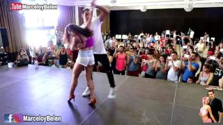 MARCELO Y BELEN   Workshop Aranjuez Bachatea DUSTIN RICHIE FT  DAMA   DUELE