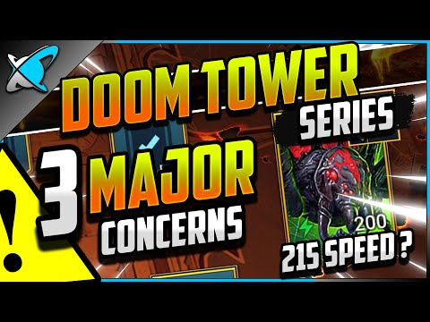 3 MAJOR CONCERNS... BEFORE You Invest Resources | Doom Tower Day 3 | RAID: Shadow Legends
