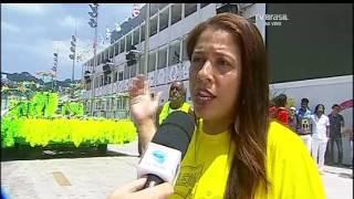 Escolas de samba mirins desfilam nesta terça-feira