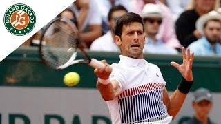 Novak Djokovic v Joao Sousa Highlights - Men's Second Round 2017 | Roland-Garros