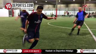 Kasbah vs. Deportivo Hidalgo Liga 5 de Mayo