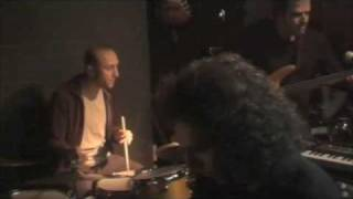 mike kapilidis on the drums-drum solo over a vamp w/stavros lantsias and giotis kiourtsoglou