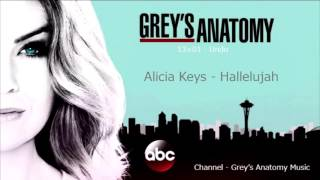 Grey's Anatomy Season 13 Episode 01: Alicia Keys - Hallelujah